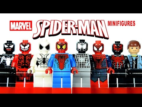 Lego The Amazing Spider Man Knockoff Minifigures Set 2