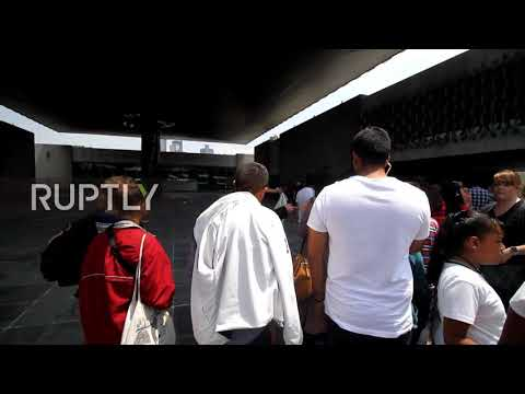 Mexico: Tourists flee as 7.1 magnitude quake shakes Mexico City museum