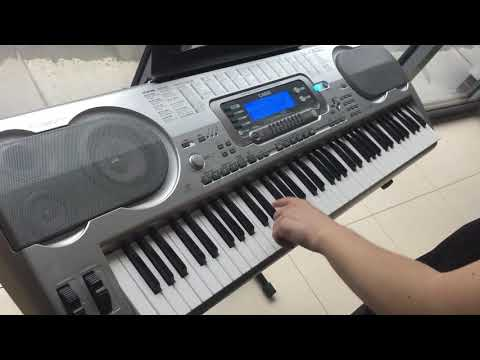 Casio wk-3500 test
