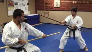 Kumi-Bo Training at JKR Anaheim Dojo