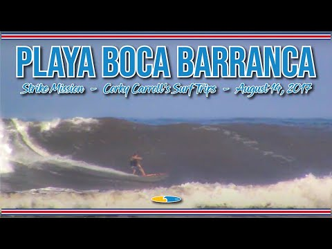 Playa Boca Barranca, Costa Rica. Solid south swell biggest of the winter (southern hemisphere)