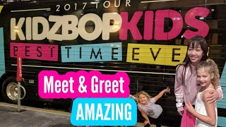 """Kidz Bop Kids """"Meet and Greet"""" with Adulting, with Children!!!"""
