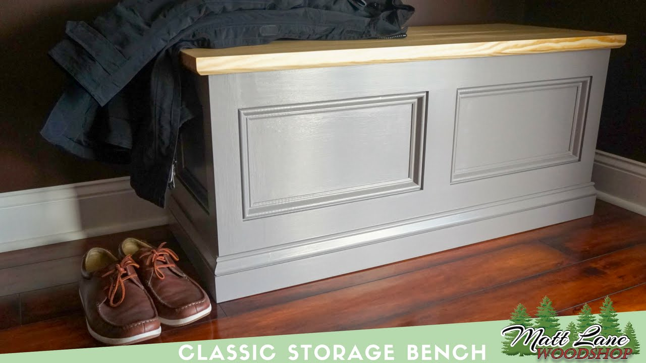 Classic Storage Bench Youtube