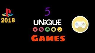 top 5 most popular games 2018 ( BE UNIQUE )