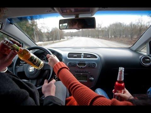 Пьяные за рулём