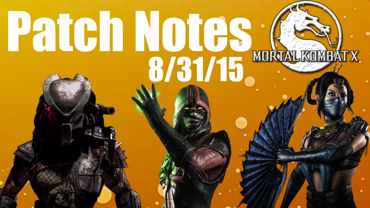 Mortal kombat x: kombat kast 15 (patch notes) youtube.