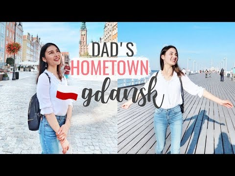 Finally Visiting My Dad's Hometown, Gdansk! And Practising Polish♡⎮Poland Trip 2018