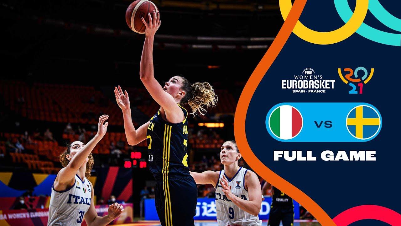 Italy v Sweden   Full Game