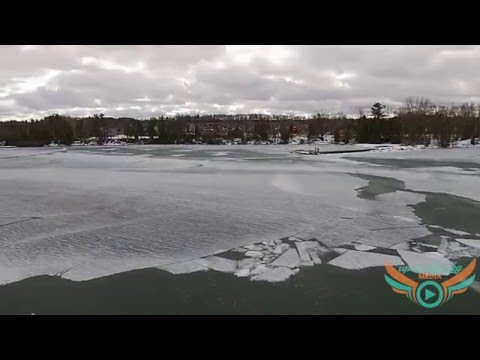 Kempenfelt Bay - February 1, 2016 Ice Conditions