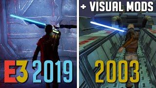 Fallen Order E3 Demo Embarrassed by Modded Jedi Academy
