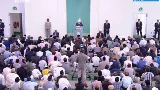 Urdu Khutba Juma 5th July 2013: Successful Tour and Jalsa Salana Germany 2013