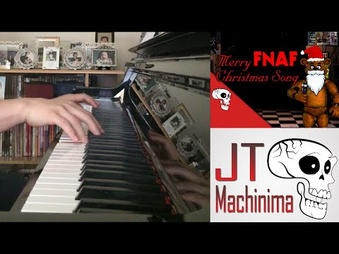Merry FNAF Christmas Song - JT Machinima (Piano Cover by Amosdoll)