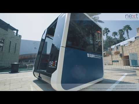 NEXT Future Transportation - Full Scale Working Modular Prototypes Testing in Dubai