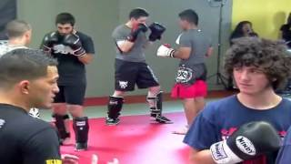 Anthony Pettis Showing two variations of escape from the guard with 2 attacks