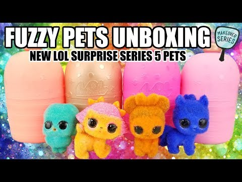 LOL Surprise Doll FUZZY PET Makeover Series 5 NO FUZZY Champ Bunny BE PLAYED Hot