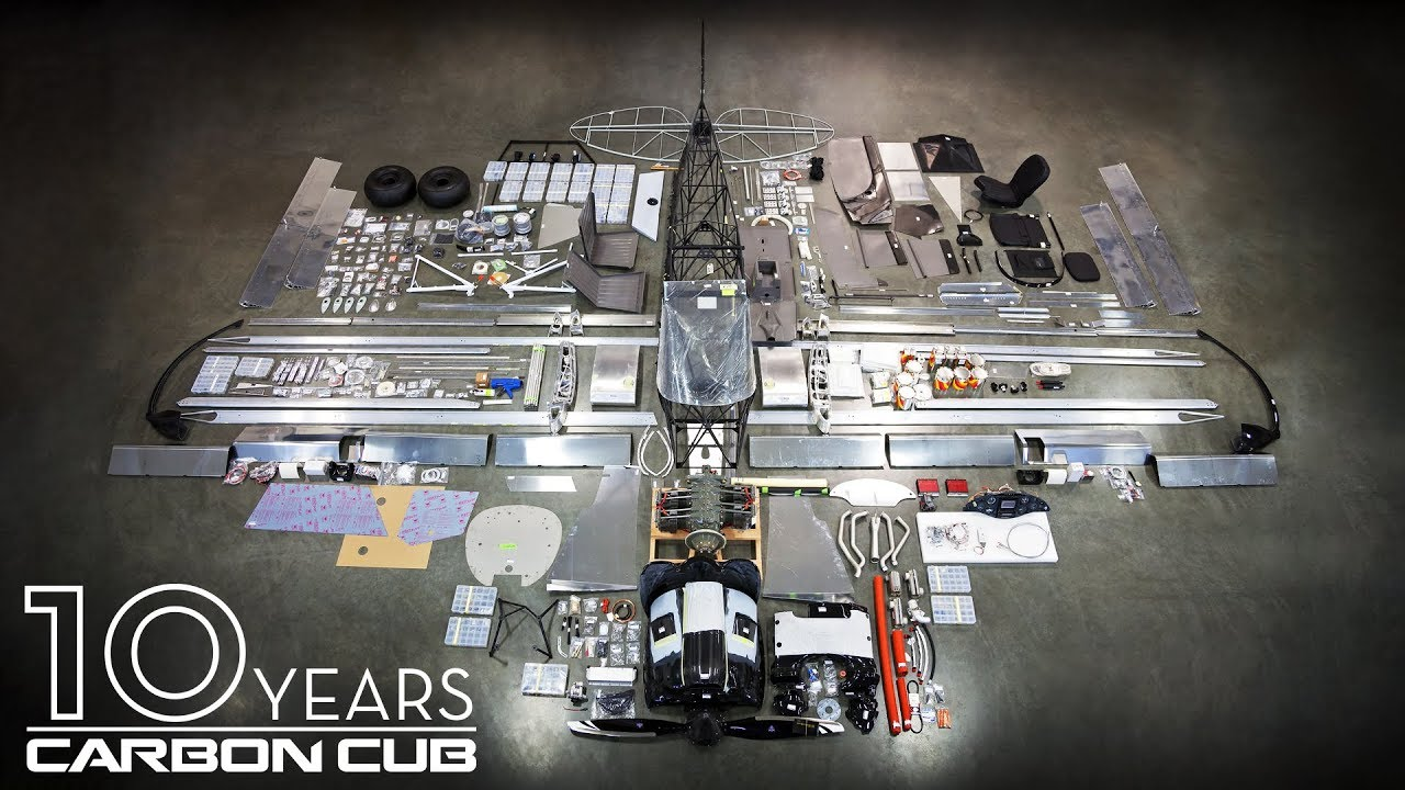 10 Years of Carbon Cub: The EX Kit Program Begins