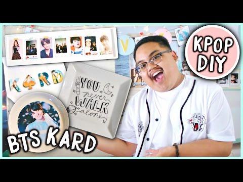 EASY DIY KPOP Room Decor Ideas! (BTS, KARD, etc.) | KPOPAMOO