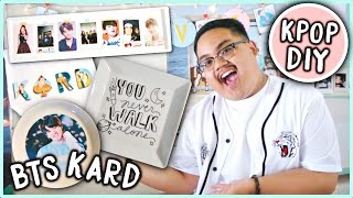 EASY DIY KPOP Room Decor Ideas! (BTS, KARD, etc.) | KPOPAMOO