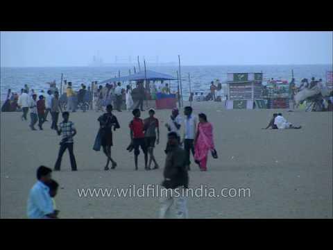 marina-beach:-second-longest-urban-beach-in-the-world