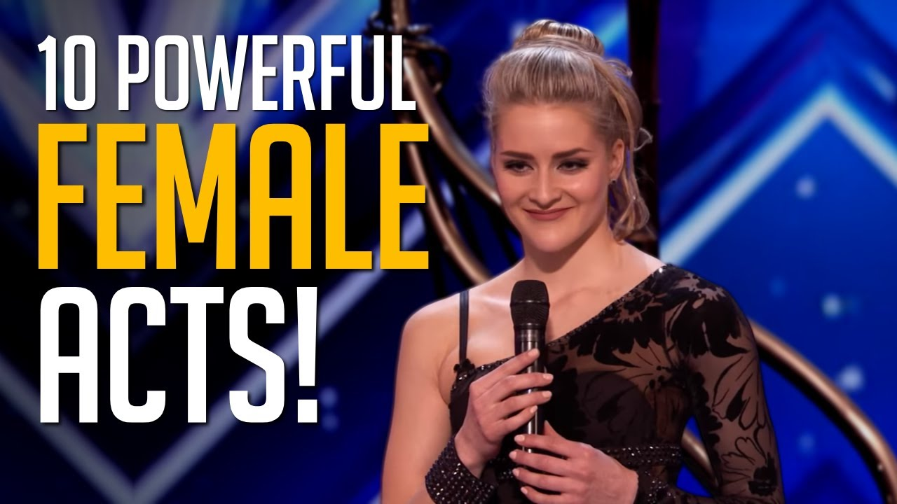 10 Most POWERFUL Female Acts Prove Their Strength On America's Got Talent!