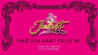 Tim Mahendran, Arun Blair-Mangat – Whataya Want From Me [Official Audio]