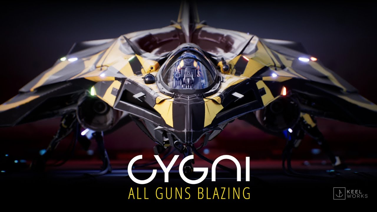 KeelWorks Announces Visually Stunning Shoot'em Up, CYGNI: All Guns Blazing.