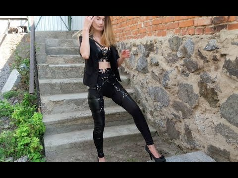 Leather Harness & Leather Leggings Outfit - olgamadych from YouTube · Duration:  3 minutes 58 seconds