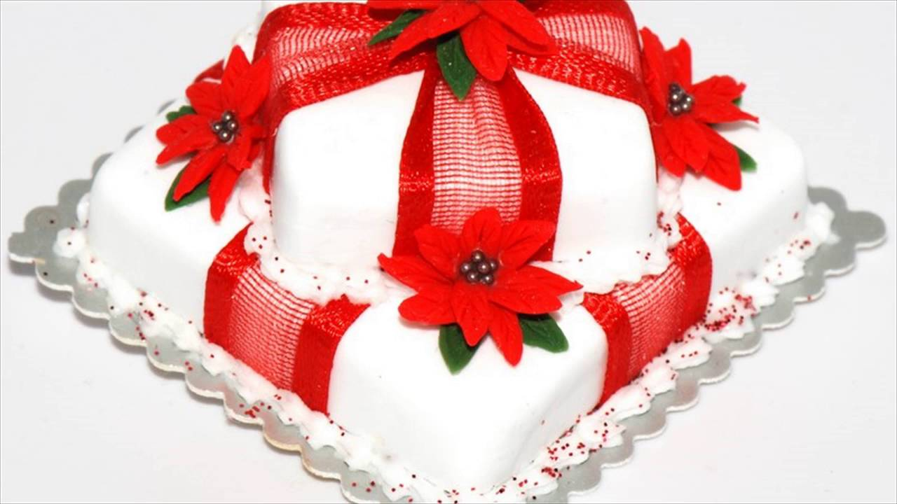 Easy Christmas Cake Decorating Ideas - YouTube