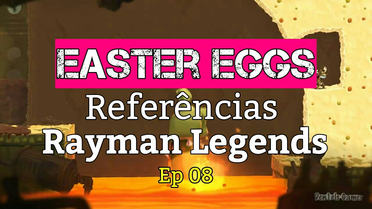 Filme Rayman with rayman legends - easter eggs e referências ep 8 - youtube