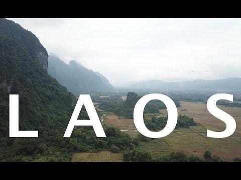 Laos Drone Video