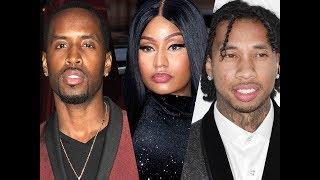 Tyga Gives Up his Hairline Transplant Plug after Nicki Minaj brings up his name while Dissin Safaree