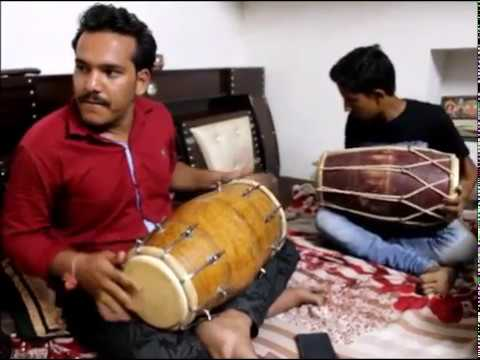 Best dholak by sameer II amazing dholak player  II musical instrument dholak