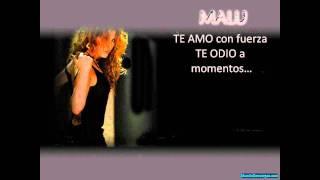 karaoke - Malú Blanco y Negro (HD)