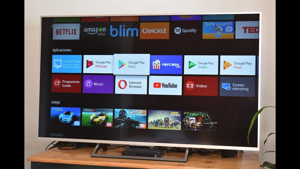 Como Instalar Google Play Store En Tu Smart Tv Sony Y Descargar Apps
