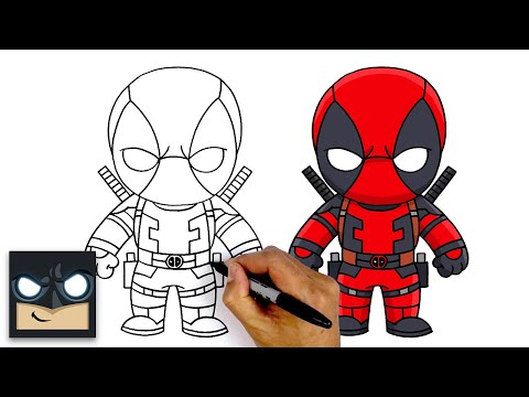 How To Draw Deadpool ⚔️ NEW