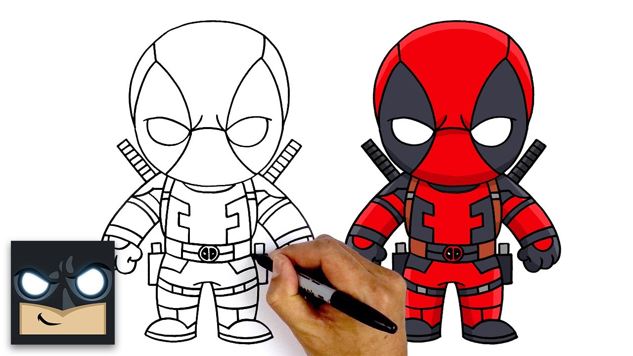 How To Draw Deadpool New Top Secret Fortnite Season 2 Battle Pass Youtube