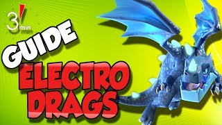 3 Minute Guide to Electro Dragon Attacks | Asto Drag Strategy | Clash of Clans