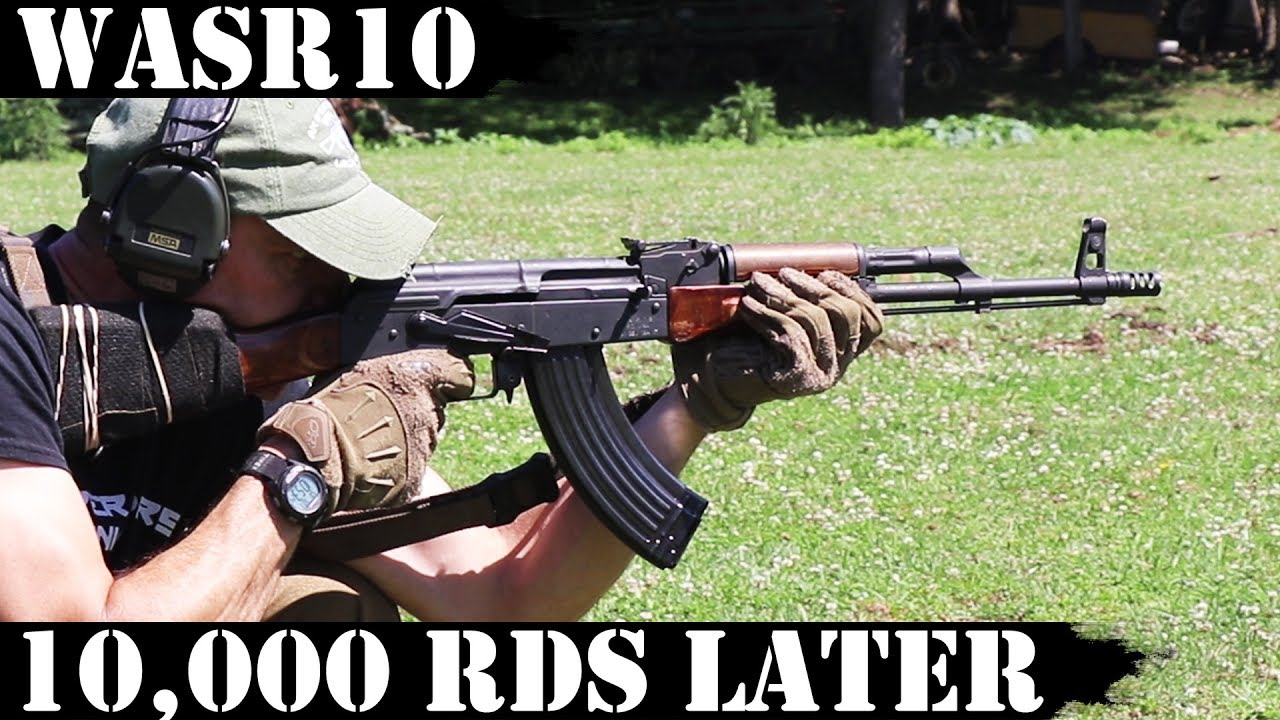 Most hated AK47 in USA: WASR10 - 10,000 rds later...