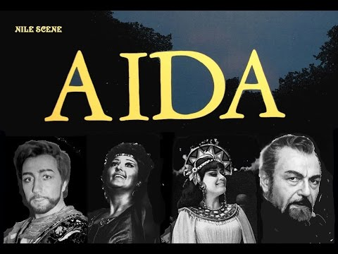 "MICHAIL SVETLEV in ""Aida"" NILL act / TOMOVA-SINTOV, OBRASTZOVA,  BRUSON, GOMEZ-MARTINEZ"