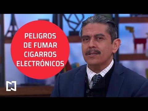 Uso de cigarrillos electrónicos es igual o más peligroso que cigarros normales - Sábados de Foro