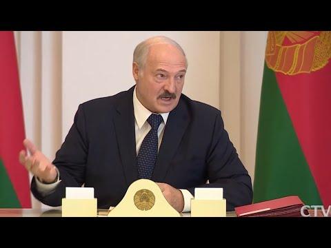 Лукашенко жёстко о России: Коронавирус у них полыхает, а не у нас! Кто от кого должен закрываться!
