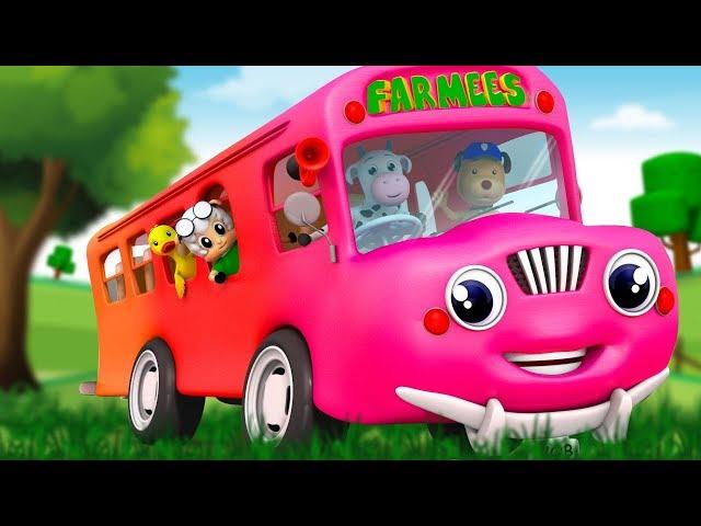 Nursery Rhyme Videos For Children | Popular Kids Songs For Babies | Farmees