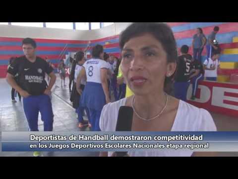 DELEGACIONES DE HANDBALL NOS REPRESENTARAN EN LA MACRO REGIONAL EN LA CIUDAD DE CHICLAYO.