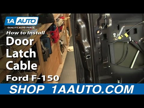 How To Replace Door Latch Cable 04-08 Ford F-150