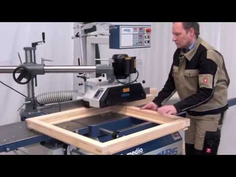 Panhans window production with Leitz window tooling 'Make A rated Windows'
