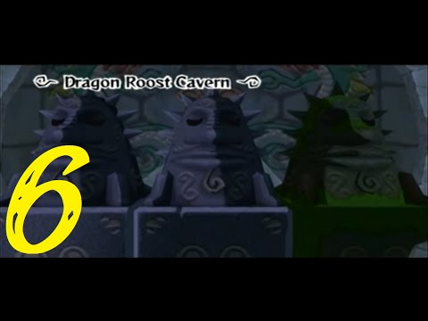 "Dragon Roost Cavern | Zelda: The Wind Waker 100% Walkthrough ""6/45"" (No Commentary)"