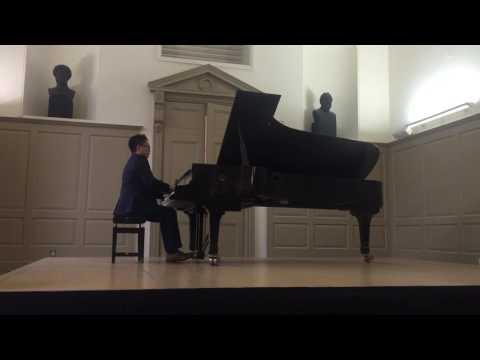 """Liangjun Dong, Shubert """"wanderer Fantasy"""",Beethoven op31.2.'Tempest"""", Liszt. Vallee d'obermnn"""