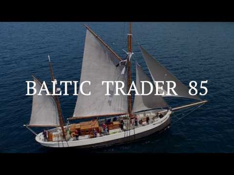 Baltic Trader 85 - Classic Yacht Delivery - Falmouth to Gran Canaria