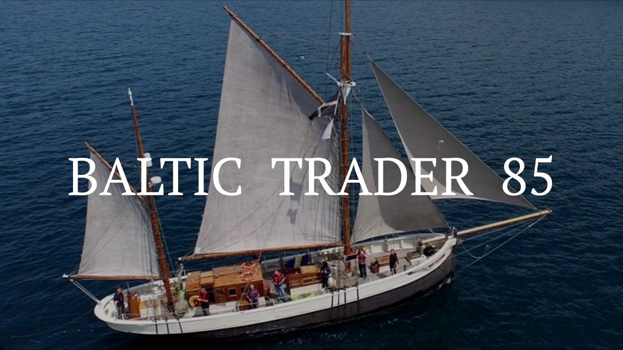 Baltic Trader 85 - Classic Yacht Delivery - Falmouth to Gran ...