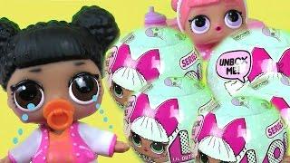 Видео для Детей. Игрушки #Куклы. Сюрприз #Игрушки LOL BABY SURPRISE DOLLS Игрушки Меняющие Цвет